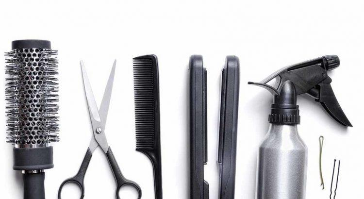 Equipment in Salon Hair